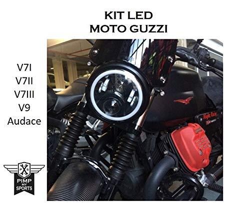 Faro a led moto Guzzi V7 I II III V9 Au