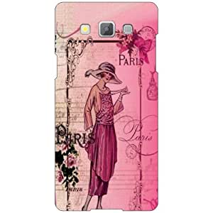 Printland Pink Soother Phone Cover For Samsung Galaxy A5 SM-A500GZKDINS/INU