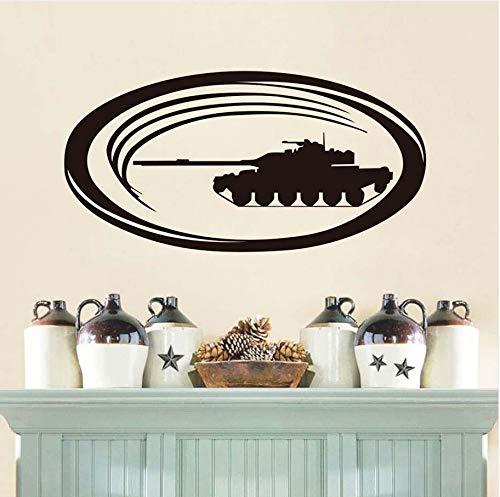 Knncch Sofa Hintergrund Wandaufkleber Vinyl Military Tank Selbstklebende Kinder Schlafzimmer Wandaufkleber Wandbilder Home Kunst Dekoration Poster