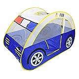 Pro Kinder Pop-Up-Spielzelt Auto-Form mit Moskitonetz tragbar faltbar Ocean Ball Pit Indoor Outdoor