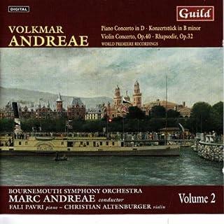 Volkmar Andreae - Piano & Violin Concertos