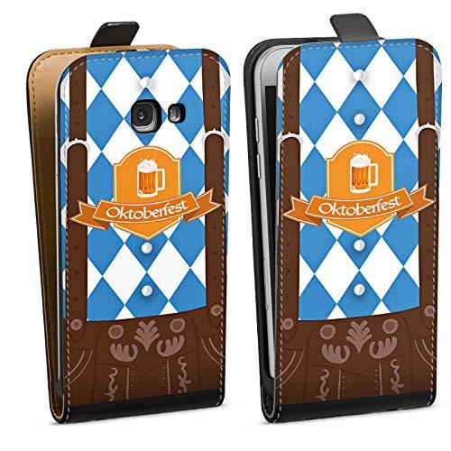 DeinDesign Tasche kompatibel mit Samsung Galaxy A5 Duos 2017 Flip Case Hülle Oktoberfest Lederhose München