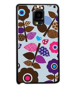 fiobs creative fashion leaf art Designer Back Case Cover for Samsung Galaxy Note Edge :: Samsung Galaxy Note Edge N915Fy N915A N915T N915K/N915L/N915S N915G N915D