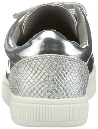 La Strada 960046, Baskets Basses Femme Argent - Silber (1342 - mirror Silver)
