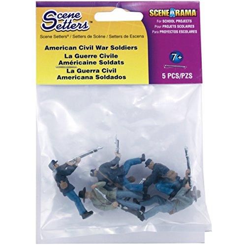 ststoff Szene Setter (R) Figurines-American Bürgerkrieg Soldaten 5kg ()