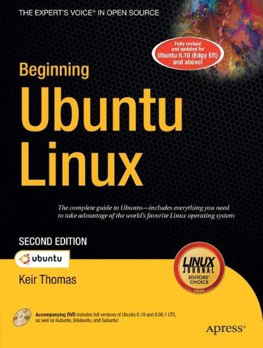 Beginning Ubuntu Linux: Book/DVD Package 2nd Editon