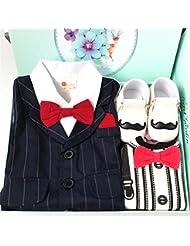SHISHANG Regalo del bebé Caja de regalo Regalos del bebé del muchacho para 0-1-Año-viejo recién nacido Bolso 100% del regalo de las cuatro estaciones del algodón , 80cm