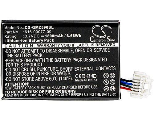 CS 1800mAh Li-Ion batteria per Garmin zumo 590590lm 595, sostituisce Garmin 010-12110-003361-00077-10-616-00077-00-616-00077-10