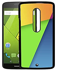 Toppings 2D Printed Designer Hard Back Cover For Motorola Moto X Play Design-10022