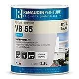 Renaudin Malerei 130205vb55Acrylfarbe Fassade Außen Ton Stein 2, 5l