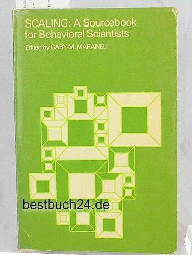 Scaling;: A sourcebook for behavioral scientists (Methodological perspectives)