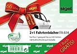 Fahrtenbuch A6 40 Blatt 2 + 1 Aktion
