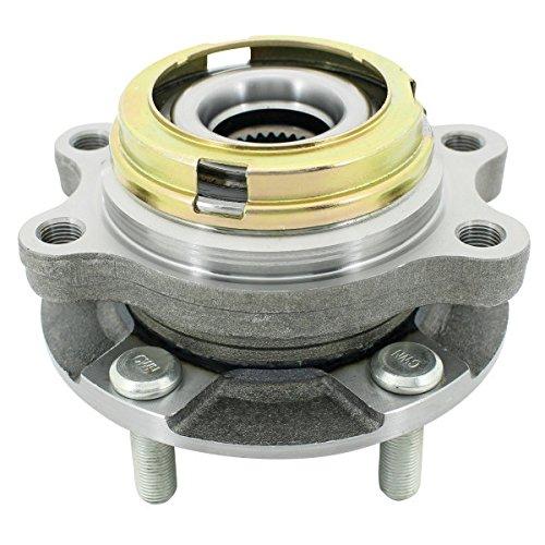 WJB WA513310HD Heavy Duty Version Front Wheel Hub Assembly Wheel Bearing  Module Cross Timken HA590046 Moog 513310 SKF BR930715, 1 Pack