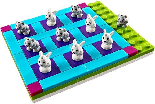 LEGO - 40265 FRIENDS Häschen und Kätzchen drei-gewinnt Spiel im Beutel Tic-Tac-Toe