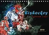 Eishockey - extrem cool (Tischkalender 2019 DIN A5 quer): Teamsport der Extra-Klasse - Kraft, Ausdauer, Härte und Schnelligkeit (Monatskalender, 14 Seiten ) (CALVENDO Sport)