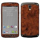 atFolix Samsung Galaxy S4 Active Skin FX-Wood-Root Designfolie Sticker - Holz-Struktur/Holz-Folie