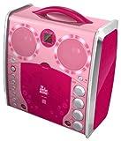 Singing Machine SML383 Karaoké portable CDG avec Lightshow Rose