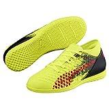 Puma Future 18.4 IT Kinder Fußballschuhe Yellow-Red-Black 3