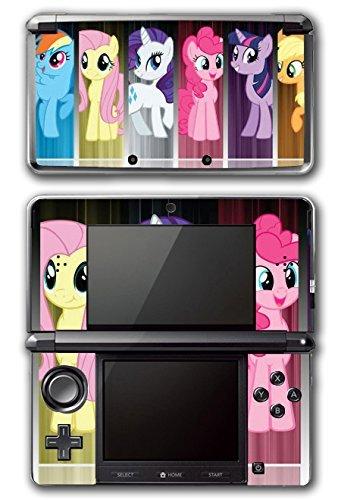 My Little Pony Friendship is Magic MLP Friends Twilight Sparkle Rarity Rainbow Dash Fluttershy Pinkie Pie Apple Jack Video Game Vinyl Decal Skin Sticker Cover for Original Nintendo 3DS System by Vinyl Skin Designs (Vinyl Pinkie Decal Pie)