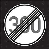 300 km/h aufgehoben - Sticker
