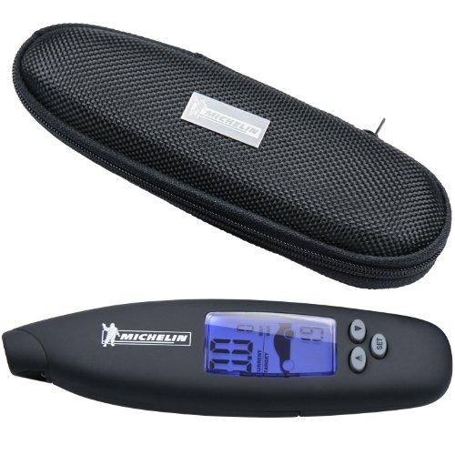 Michelin 92409 Manometro digitale per misurazione pressione pneumatici, programmabile