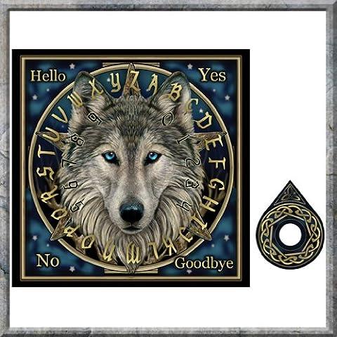 Conseil Ouija Board ~ ~ d'esprit mystique ~ conception de loup