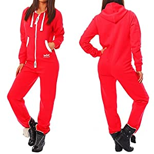 Finchgirl Damen Jumpsuit Jogger Jogging Anzug Trainingsanzug Overall