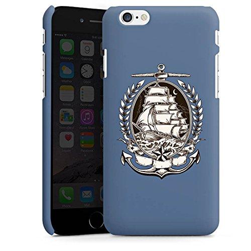 Apple iPhone X Silikon Hülle Case Schutzhülle Schiff Meer Seefahrer Premium Case matt