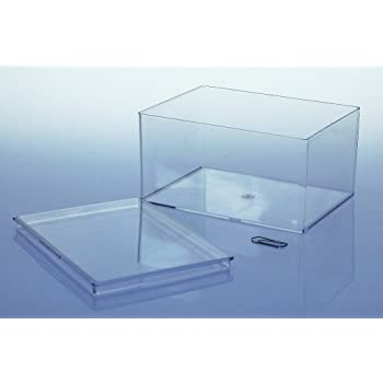 10 x Variocolors Klarsichtdosen transparent 130x96x67mm