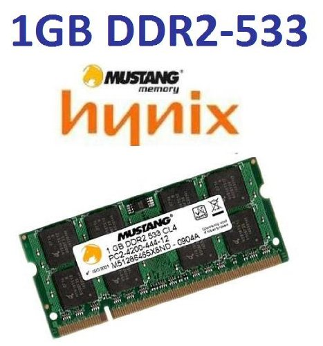 533 1gb Sodimm Notebook Speicher (1 GB 200 pin DDR2-533 SODIMM (533Mhz, PC2-4200, CL4) - 100% kompatibel zu DDR2-400 (400Mhz, PC2-3200, CL3) für NOTEBOOKS)