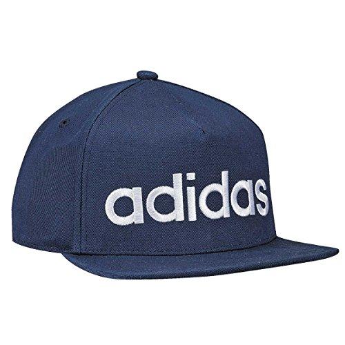 Adidas flatbrim logo capello, blu (maruni), osfm