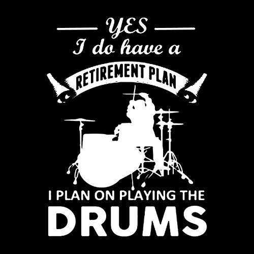 Drummer Retirement Plan Men's Vest Black