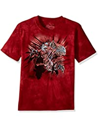The Mountain Men's Red Rip Rex T-Shirt Children's