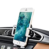 Picture Of Air Vent Car Mount, iAmotus Universal Hands Free Phone Holder for Car 360°Adjustable Car Cradle for iPhone X 8 7 6s Plus 5s SE Samsung Galaxy S8 S7 Edge S6 Note 8 LG Nexus Sony and Other Smartphones