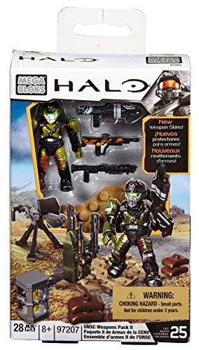 Mega Bloks Halo UNSC Weapons Pack II