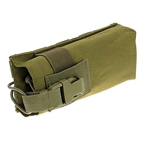 ruifu Outdoor Multifunktions Wasserkocher Tasche MOLLE Wasser Flasche Tasche 600D Tactical Hydration Armeegrün