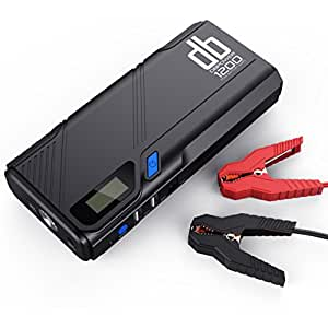 db dbpower 1200a tragbare auto starthilfe power pack jump starter autobatterie anlasser und. Black Bedroom Furniture Sets. Home Design Ideas