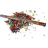 6 x HC-Handel 912182 Konfetti Popper Shooter Herzen 80 cm