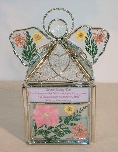 St Patricks Geschenke - Banberry Designs Sonnenfänger, Kleeblatt, Glaskristall mit