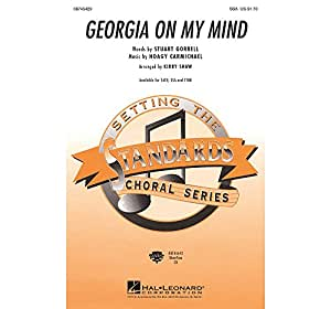 Hoagy Carmichael: Georgia On My Mind (SSA). Partitions pour SSA, Accompagnement Piano