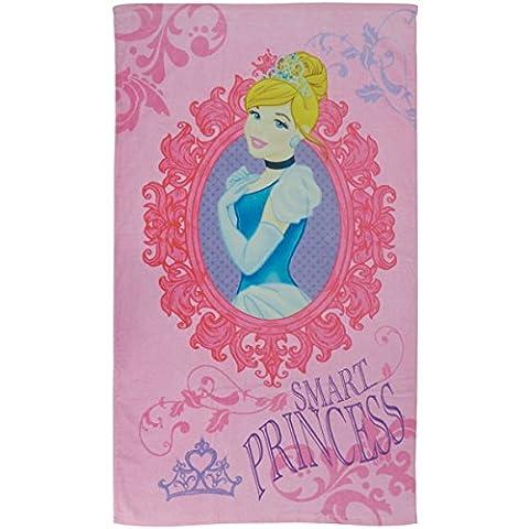 Disney Princess 043237 Badetuch Midnight, Baumwolle Velours, 70 x 120 cm