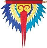 Premier Kites 53205Progressive Hängendes Banner, Phoenix, blau