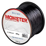 Robinson Angelschnur Siluro Monster Welsschnur Wels monofile 250m Spule (0,500 mm / 40kg)
