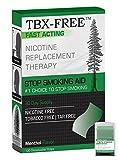 TBX-Free Smettere di fumare orale Strip aiuti 120 strisce mentolo