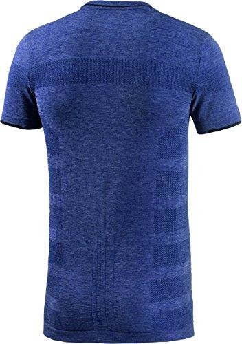 adidas Herren Laufshirt Adistar Wool Primeknit Marine