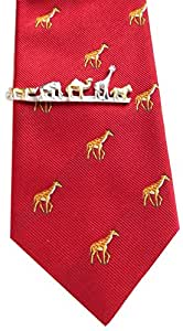 Animaux pince à cravate de zèbre, girafe, éléphant et dromadaire rhinocéros box m. i. allemagne