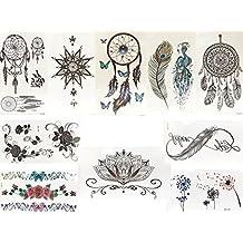 Amazon Fr Tattoo Fleur De Lotus