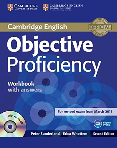 Objective Proficiency Workbook with Answers with Audio CD por Peter Sunderland