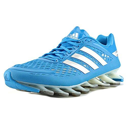 Adidas Mens Springblade entraînement Chaussures de course - blanc / noir / blanc (6.5)
