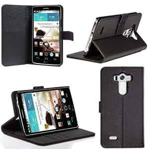 SUPCASE Etui LG G3 - Premium de cuir de pochette pour carte de crédit / carte d'identité Noir